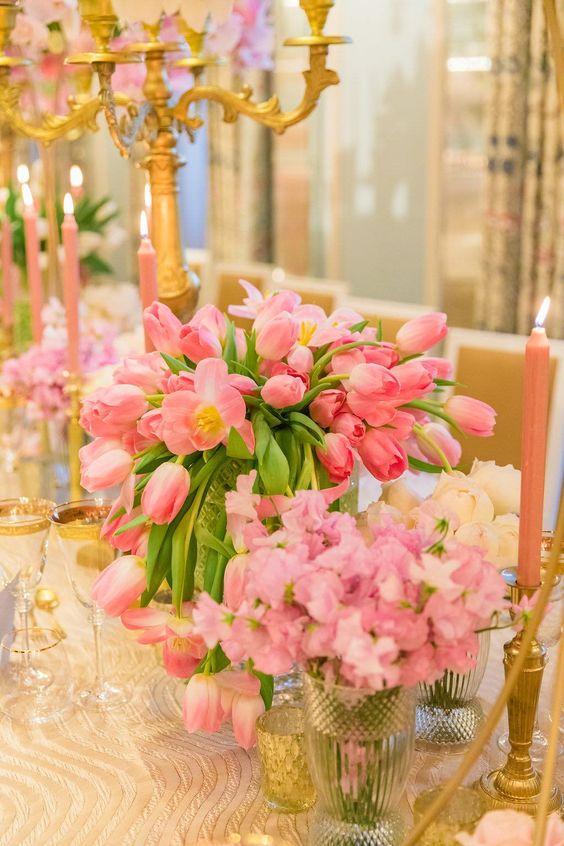Приворот медовый на воск тюльпаны