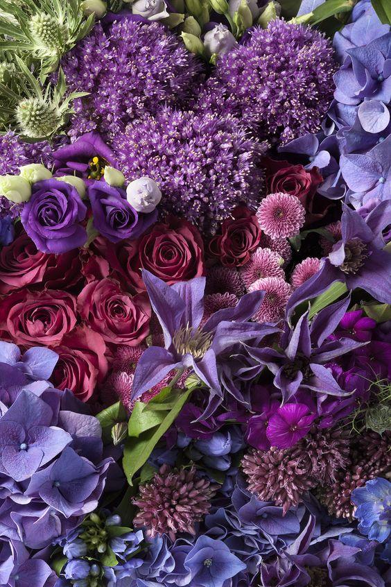 Приворот вереск лаванда и розы