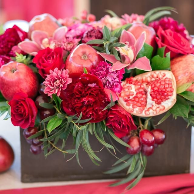 Приворот на гранат яблоко и розу