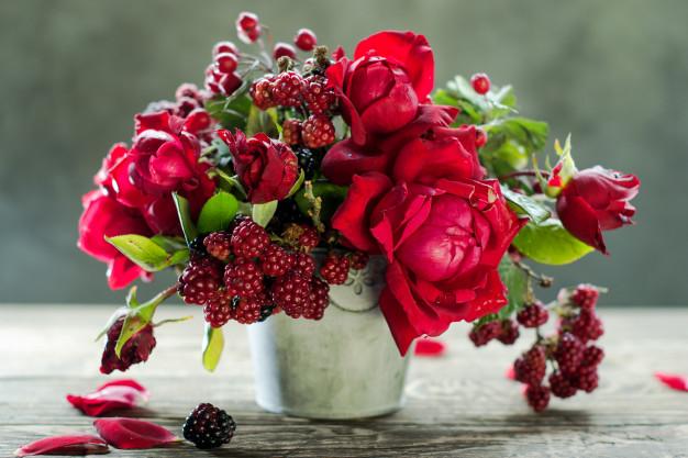 Приворот на розу ваниль и малину